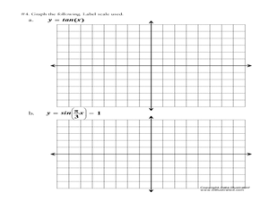 Printables Graphing Trig Functions Worksheet graphing trig functions worksheet davezan 11th 12th grade lesson planet
