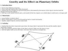 Gravity and Its Effect on Planetary Orbits Lesson Plan