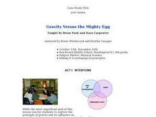 Gravity Versus the Mighty Egg Lesson Plan
