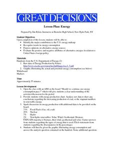 Great Decisions Lesson Plan