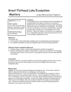 Great Flathead Lake Ecosystem Mystery Lesson Plan