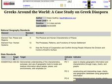 Greeks Around the World: A Case Study on Greek Diaspora Lesson Plan