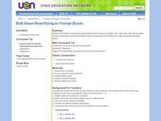 Green River/Going to Florida Lesson Plan