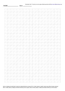 Grid Paper With Diagonal Lines Worksheet