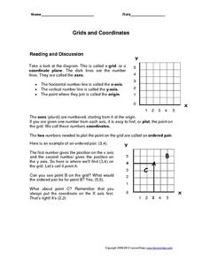 Grids and Coordinates Worksheet
