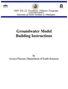 Groundwater Model Building Instructions Lesson Plan