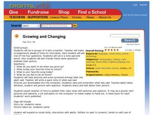 Growing and Changing Lesson Plan