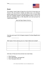 Guam Worksheet
