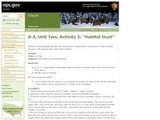 Habitat Hunt Lesson Plan