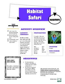 Habitat Safari Lesson Plan