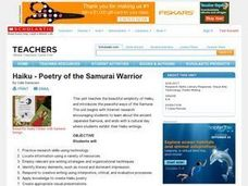 Haiku - Poetry of the Samurai Warrior Lesson Plan