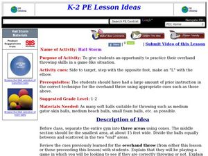 Hail Storm Lesson Plan