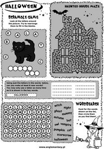 Halloween Activity 2 Worksheet