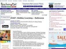 Halloween for ESL Learners Lesson Plan