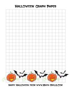 Halloween Graph Paper Printables & Template