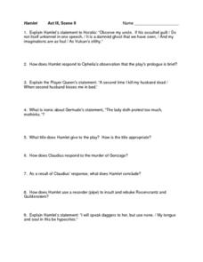 teaching resources worksheets hamlet - The Best and Most ...