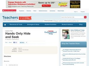 Hands Only Hide and Seek Lesson Plan