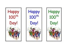 Happy 100th Day! Worksheet