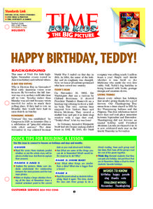 Happy Birthday Activity Lesson Plan