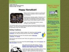 Happy Hanukkah! Lesson Plan