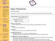 Happy Thankgiving: Traditions in Culture Lesson Plan