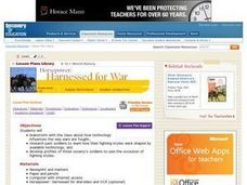 Harnessed for War Lesson Plan