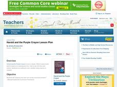 Harold and Purple Crayon Lesson Plan Lesson Plan