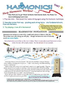 Harpmonics: Harp Harmonics Workout Lesson Plan
