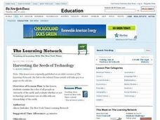Harvesting the Seeds of Technology Lesson Plan
