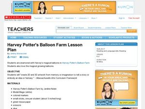 Harvey Potter's Balloon Farm Lesson Lesson Plan