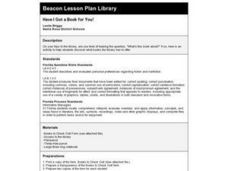 Have I Got a Book for You! Lesson Plan