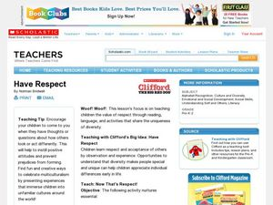 Have Respect Lesson Plan