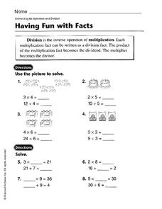 Having Fun with Facts Worksheet