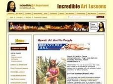 Hawaii: Art and Its People Lesson Plan