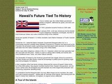 Hawaii's Future Tied to History Lesson Plan