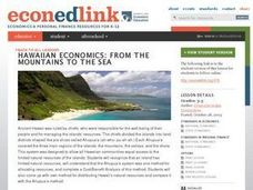 Hawaiian Economics: From the Mountains to the Sea Lesson Plan