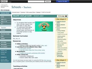 Health and Growth Lesson Plan