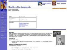 Health and the Community Lesson Plan