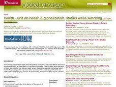 Health & Globalization Lesson Plan