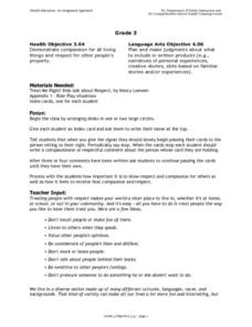 Health Grade 3 Lesson Plan