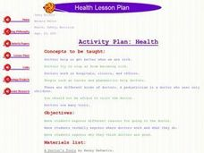 Health Lesson Plan Lesson Plan