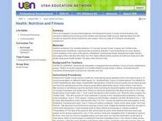 Health: Nutrition and Fitness Lesson Plan
