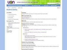 Health: Snacks and Safety for Children Lesson Plan