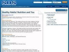 Healthy Habits! Nutrition and You Lesson Plan