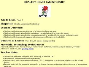 Healthy Heart Parent Night Lesson Plan
