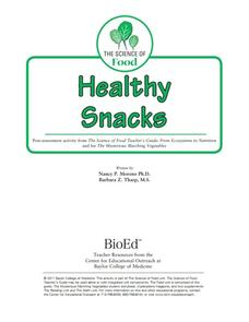 Healthy Snacks Lesson Plan