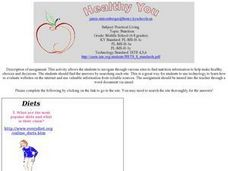 Healthy You Lesson Plan