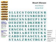 Heart Disease Worksheet