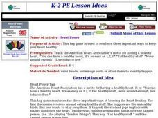 Heart Power Lesson Plan