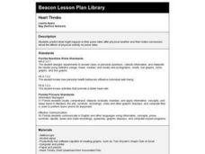 HEART THROBS Lesson Plan